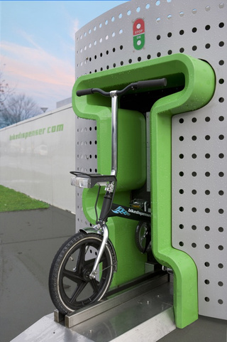Bike Vending Machine Looks Cool, Dispenses Goofy Bikes