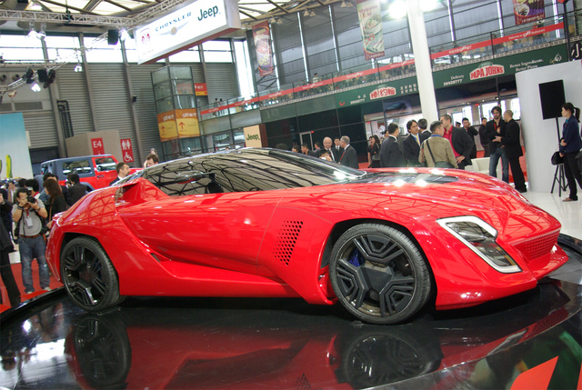 Inside Project M Reveals Already-Revealed Bertone Mantide