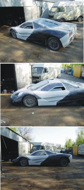Polish Man Building McLaren F1 Super Car In Garage