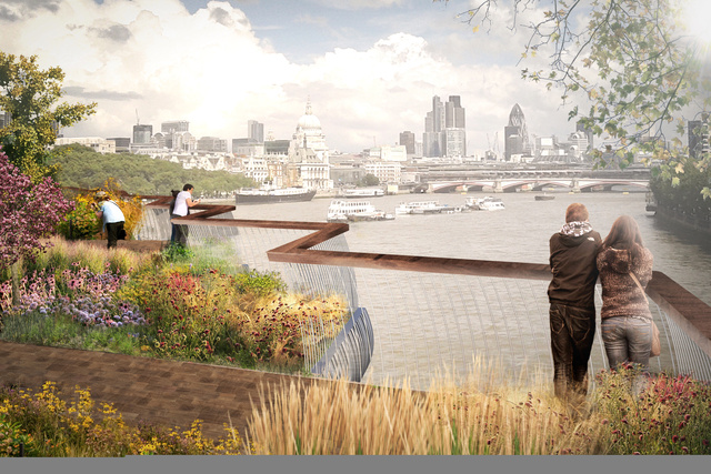 London's Plan To Build A Garden Bridge Over The Thames