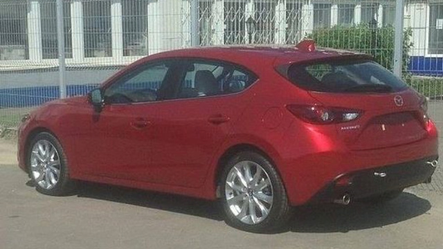 The 2014 Mazda3 Shows Up On Russian Facebook