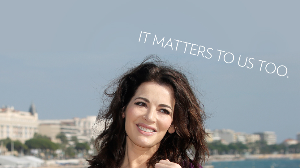 No, Nigella Lawson's Public Choking Isn't a 'Private' Matter