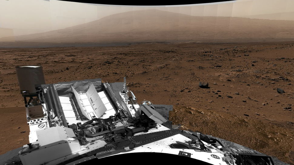 NASA unveils a spellbinding billion-pixel panorama of Mars