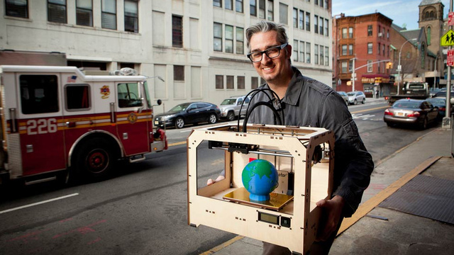 One of the World's Largest 3D Printing Companies Just Bought MakerBot