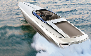 First Fearless Porsche Yacht