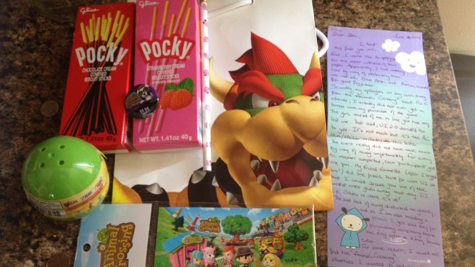 Gamer Kindness: Nintendo Swag Bag