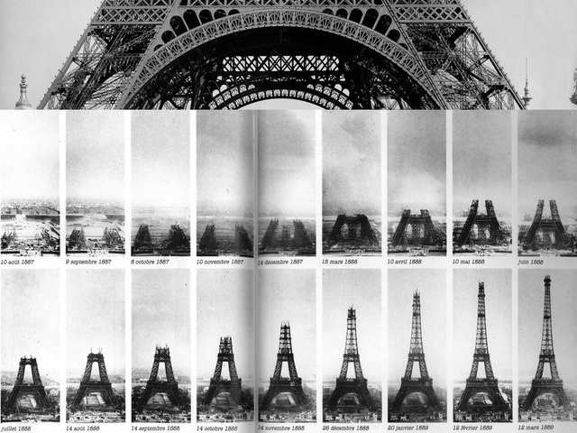 20 Photos of Iconic Buildings and Bridges As They Were Being Built