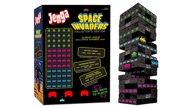 Jenga Didn't Need a Space Invaders Version, But We'll Take It