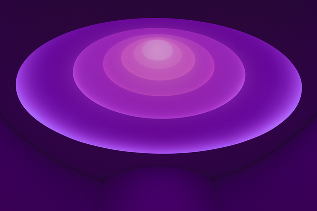 Inside the Guggenheim Museum's Glowing, Ambient James Turrell Skylight