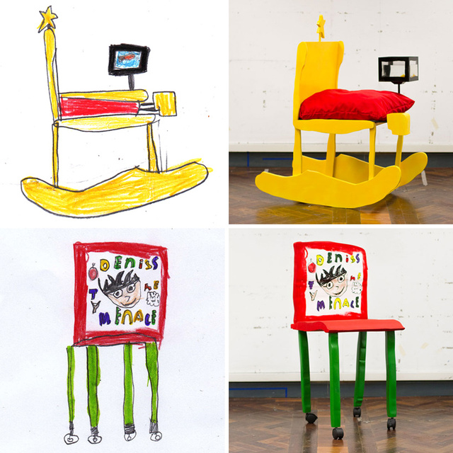 Chairs Designed By Little Kids Are Hideously Adorable