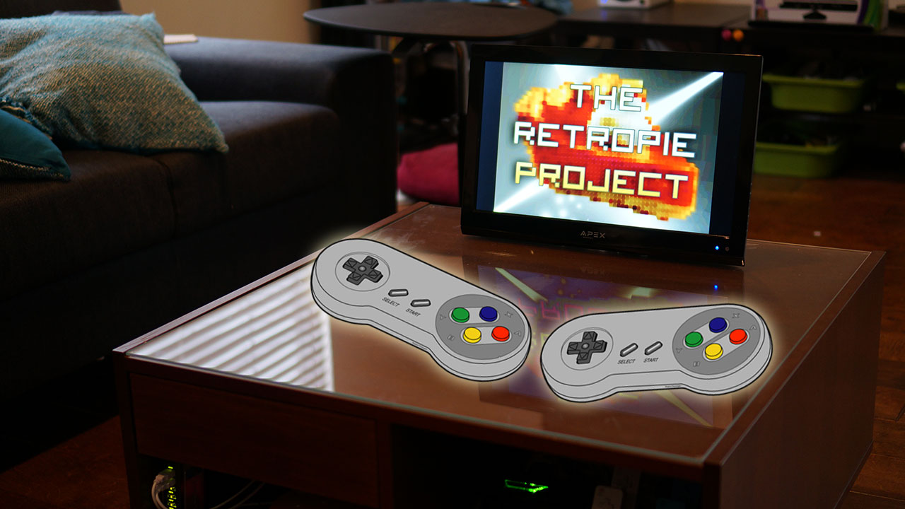 How To Create The Ultimate Tech Infused Retro Arcade Coffee Table Lifehacker Australia