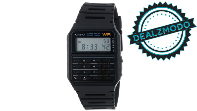 This So-Nerdy-It's-Cool Calculator Watch Is Your Deal of the Day