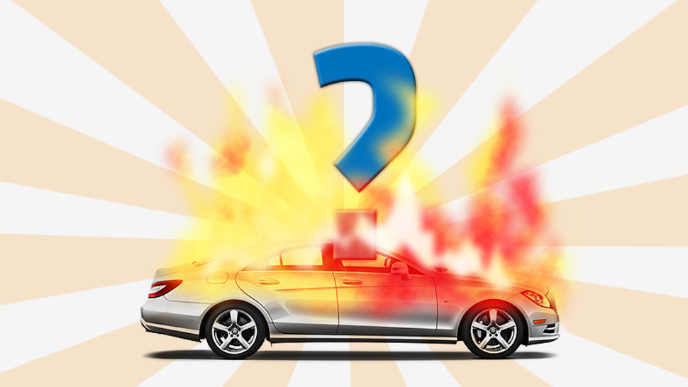 Why Cars Explode Into Fireballs And Why They Usually Don't