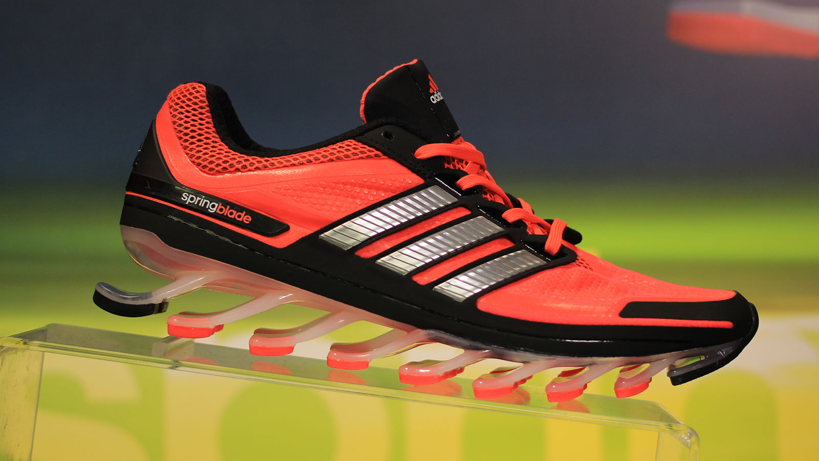 Adidas Springblade: Shoes With Actual Springs Might Be A Good Idea