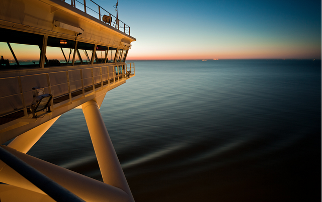 A Photographer's Rare Trip Aboard One of the World's Largest Ships