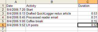 Geek to Live:  QuickLogger redux