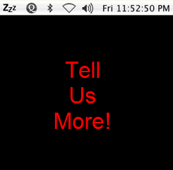 We Want to See Your Menu Bar
