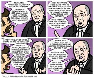 Comic Mocking Universal Music CEO Sadly Not Far From Reality