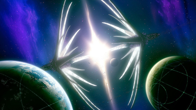 How to detect massive alien spaceships powered by stars