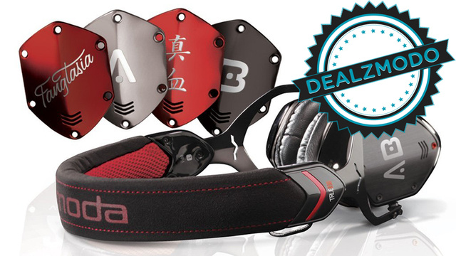 Black and Red Headphones for Vampires Are Your Deal of the Day