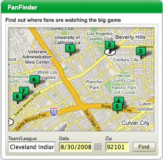 FanFinder - Find fellow sports fans who live where you do and come