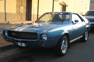 A Perfect AMX, A 390 Rambler Rogue, And Other Fun Stuff Down On The Golden Street