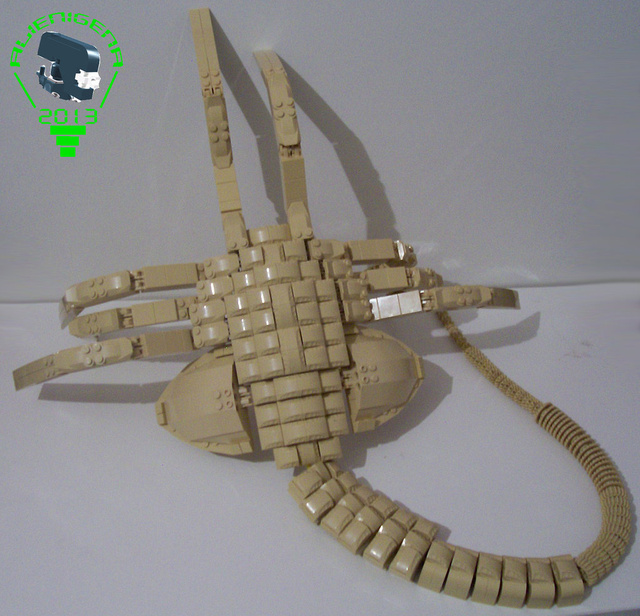 This Life-Size Lego Alien Facehugger Will Haunt Your Dreams