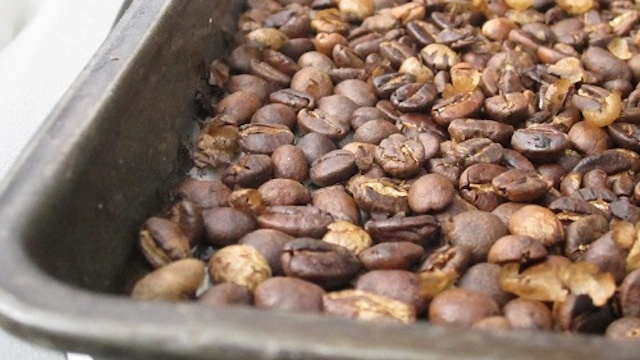Roast Your Own Coffee on the Grill