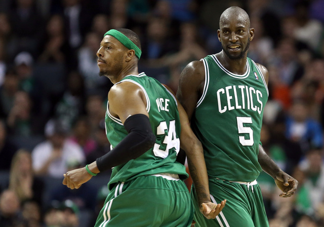 Report: Celtics Will Trade Kevin Garnett, Paul Pierce To Nets