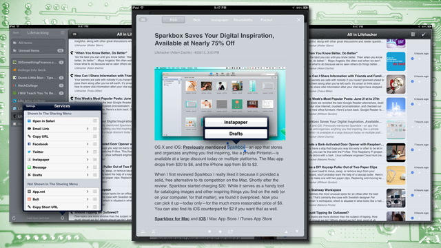 Mr. Reader is a Power User's RSS App, Now with Feedly Support and More