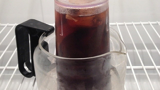 Make Cold-Brewed Coffee in Your Hotel Room