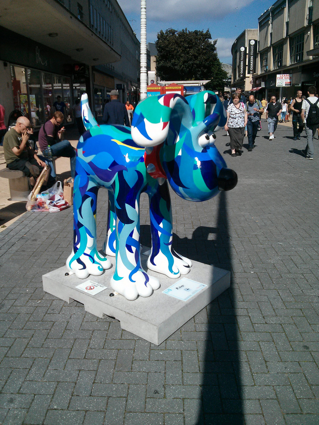 Custom Exhibition Stand Jobs : Custom painted gromit statues unleashed all over bristol