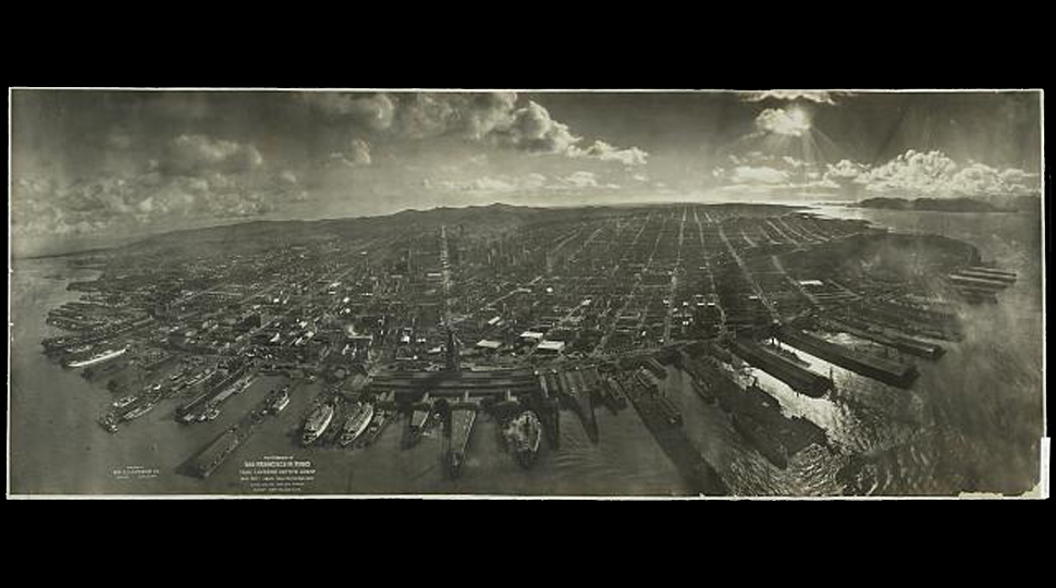 Panoramas From The Early 1900s Let You Gaze Far And Wide At The Past