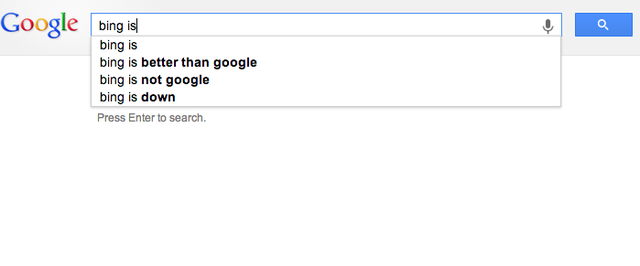 What Search Engines Really Think of Each Other
