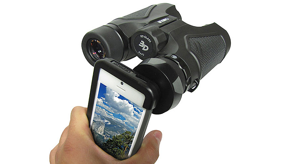A Simple Adaptor Turns Your Binoculars Into A Smartphone Zoom Lens