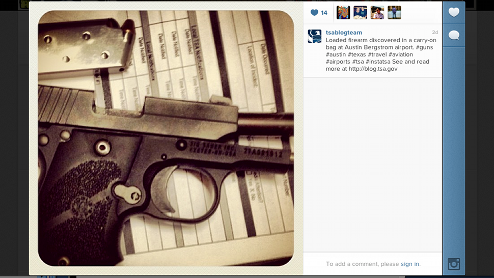 TSA Instagrams The Crazy Stuff It Confiscates From Passengers