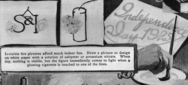 DIY Fireworks Instructions Were Ridiculously Unsafe in the 1920s