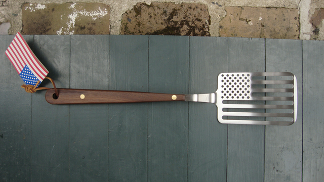 Flip Your Independence Day Burgers With Star Spangled Spatula