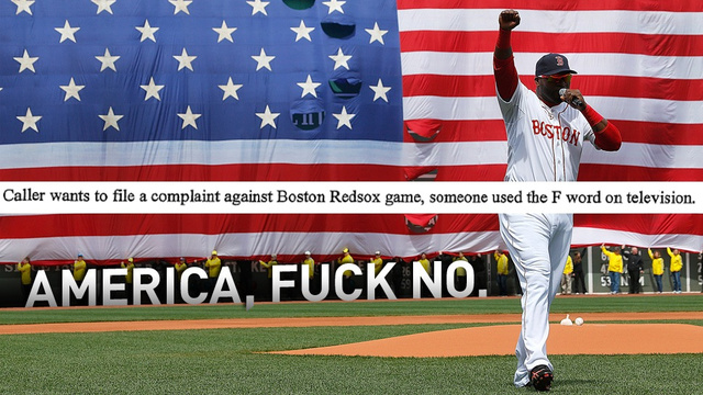 Every Viewer Complaint About Big Papi's Post-Bombing Swear Word
