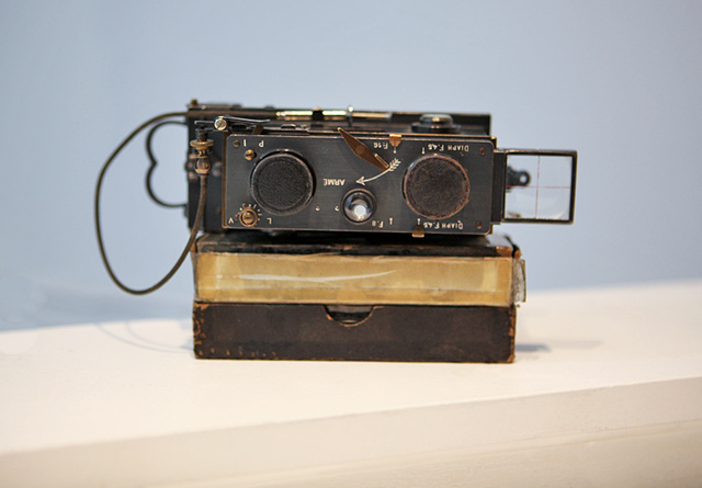 Rare 3D Camera Found Containing Photos from WWI
