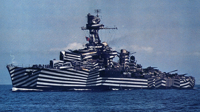 An Illustrated History of Unbelievably Camouflaged Ships