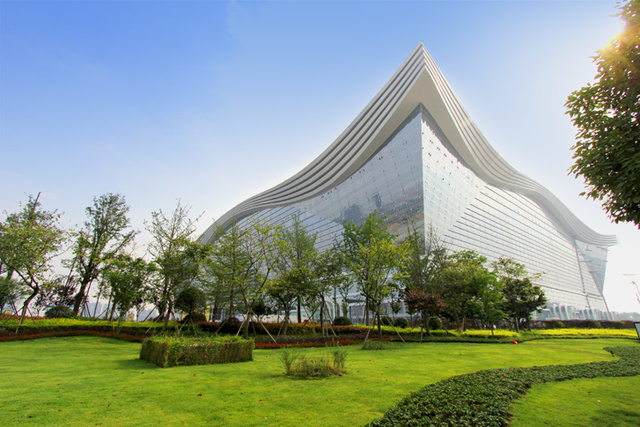 The Largest Structure Ever Built Has Opened in China