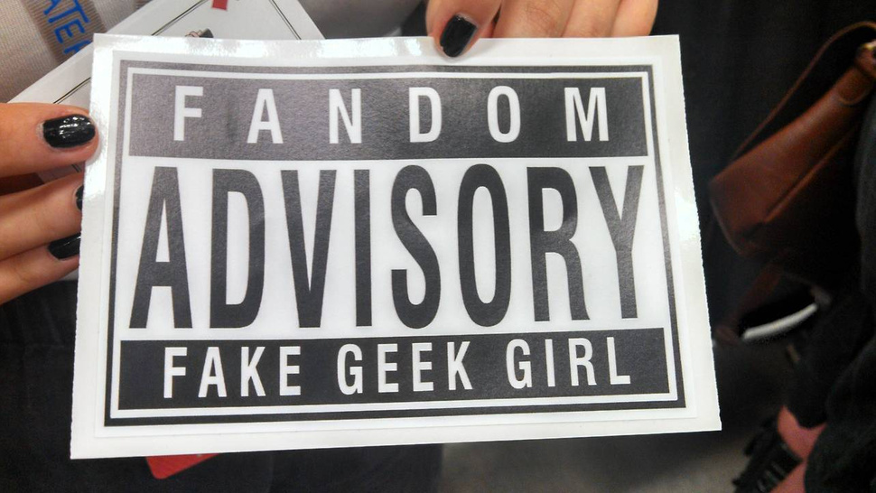 'Fake Geek Girl' Stickers Used To Sexually Harass Women At Convention