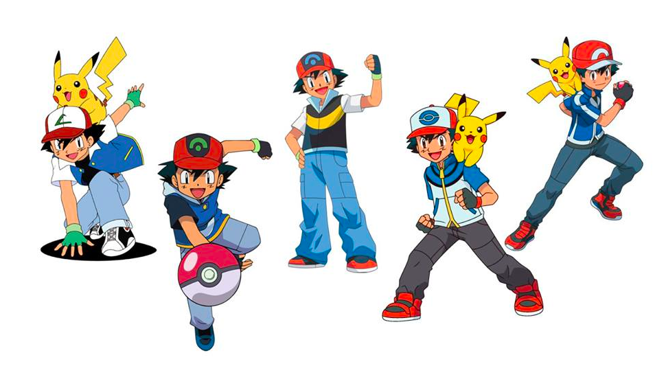 How Ash Ketchums Character Design Has Evolved Over The Years