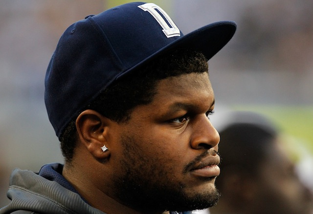 Cowboys defensive tackle Josh Brent, awaiting trial for intoxic…