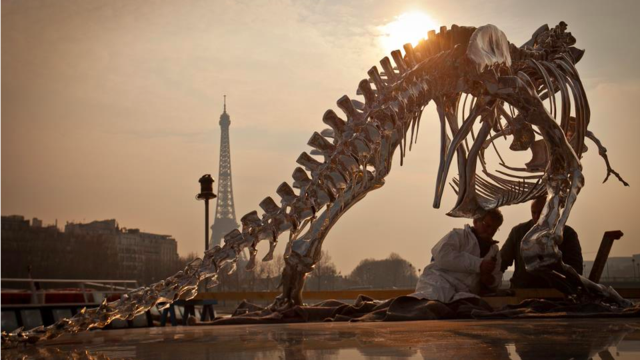 Every Public Sculpture Should be a Full-Size Chrome T-Rex