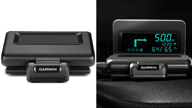 Garmin's New HUD Projects Turn-by-Turn Directions Onto Any Windshield