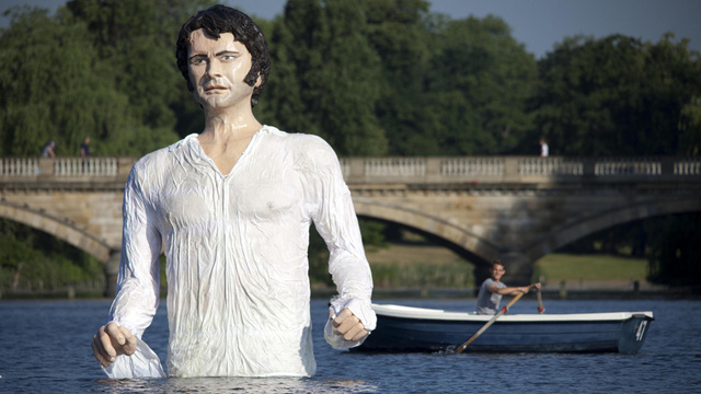 This Huge Statue of Colin Firth Is Going to Eat the Royal Baby
