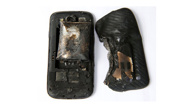 This Is What an Exploded Phone Looks Like *GRAPHIC IMAGE*