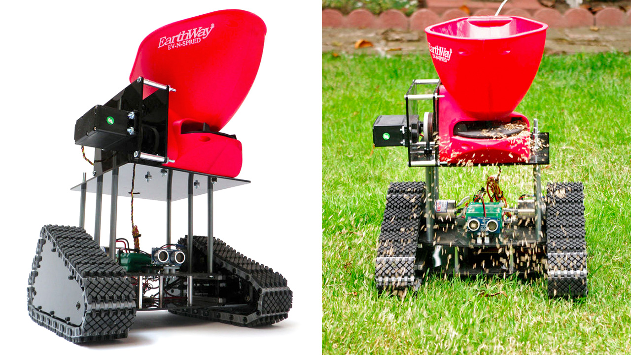 Seedbot Makes Your Lawn Lush Without A Lick Of Gardening
